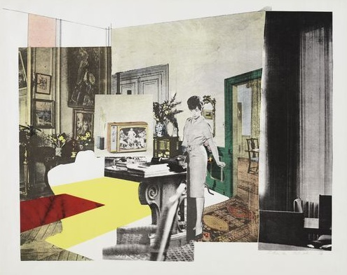 Drawings by numbers...: Richard Hamilton collage