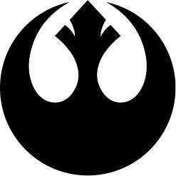 "Rebel Alliance symbol -  on my ""tshirts to make"" list"