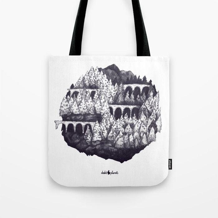 sarajevo forest planet Tote Bag