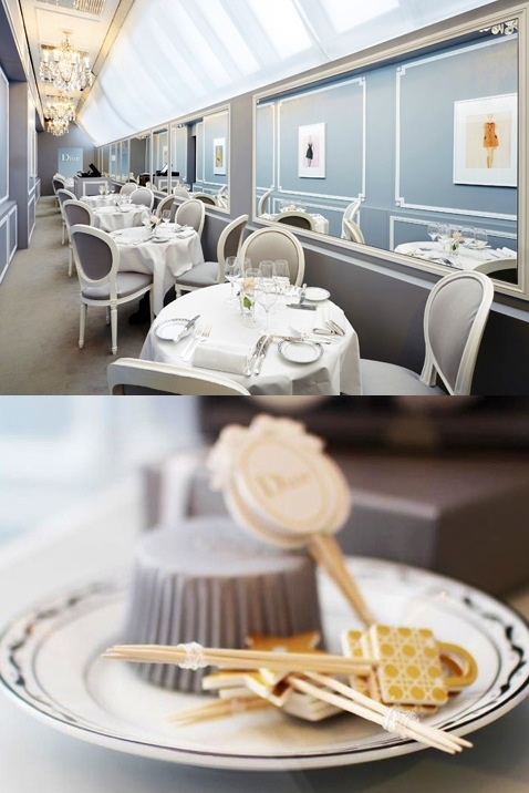 LONDON: Dior Café At Harrods