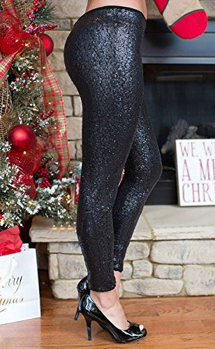 f4b5d834c6d15 Misassy Womens Sexy Glitter Sequins Leggings Elastic Waist Sparkle Stretch  Shiny Tights Dance Pants,#Sequins, #Leggings, #Elastic, #Glitter