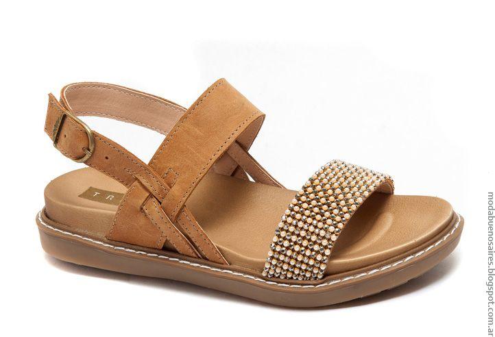 Moda verano 2017 sandalias y zapatos.