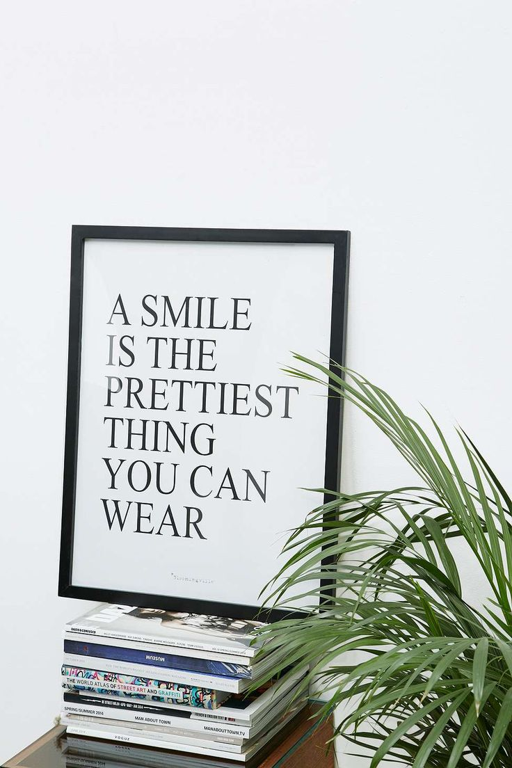 Bathroom wall decor quotes - A Smile Is The Prettiest Wall Art Bathroom Artbathroom Wall Quotesbathroom