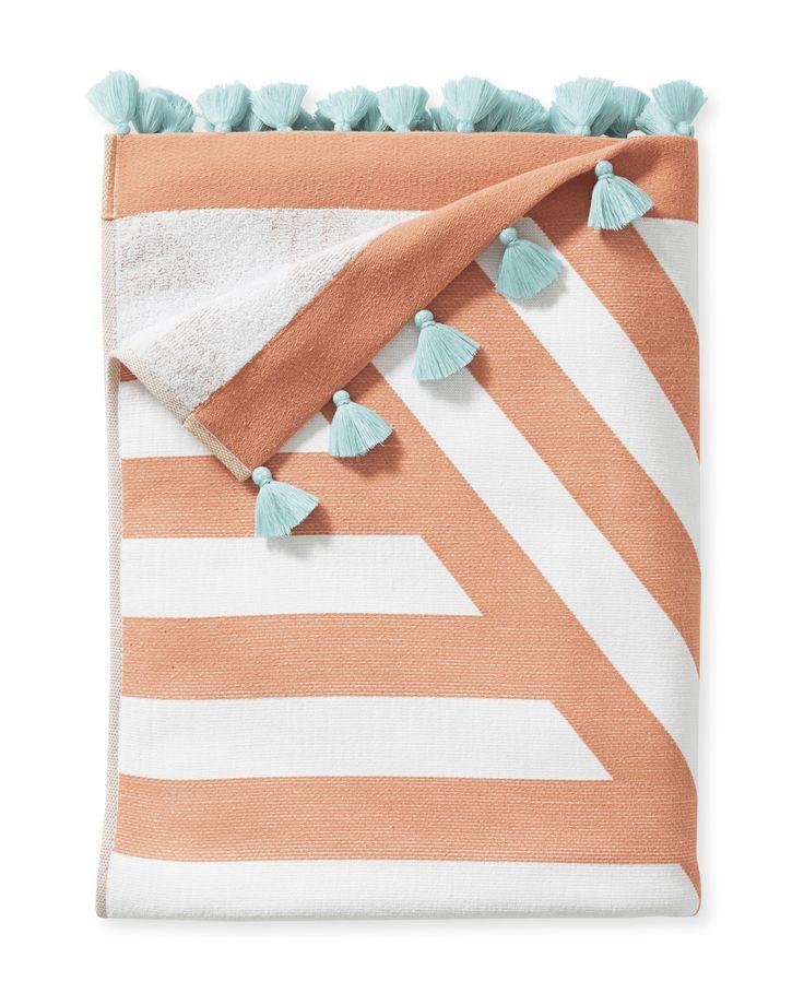 Sydney Beach Towel via Serena & Lily