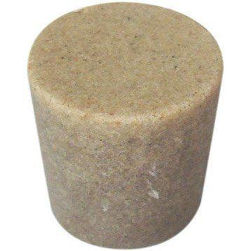 Bouton de meuble Sable, résine polyester mat