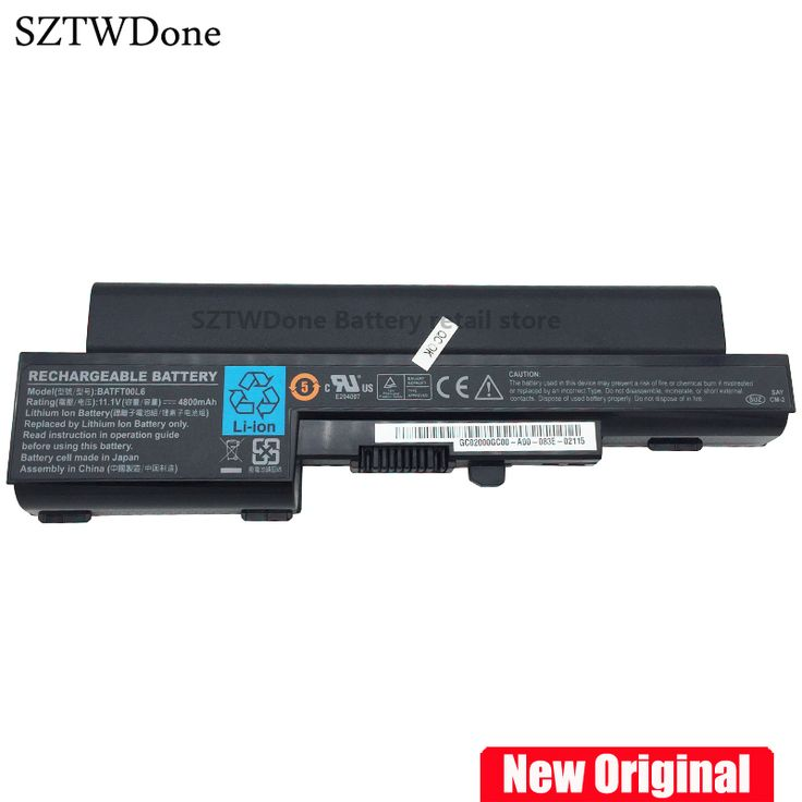 SZTWDONE Original Laptop battery for DELL Vostro 1200 Compal JFT00 V1200 RM628BATFT00L4 BATFT00L6 4UR18650-2-T0044 #Affiliate