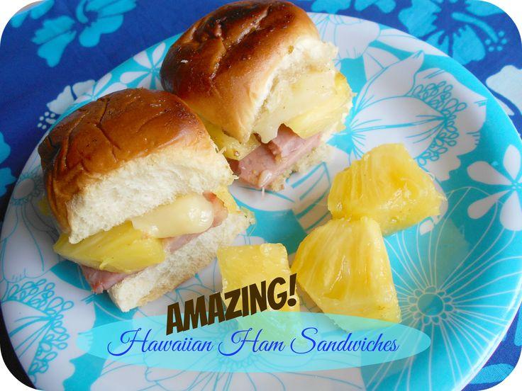 AMAZING! Hawaiian Ham Sandwiches