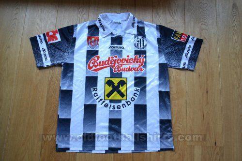 Ceske Budejovice Casa camisa de futebol (unknown year)