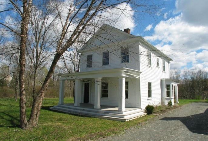 32 best greek revival homes images on pinterest exterior for Greek revival farmhouse plans