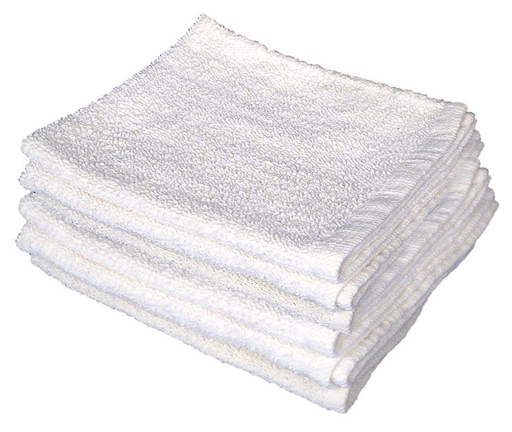 100% Cotton White Terry Bar Towels are used for all type of  cleaning needs for Restaurants, Bars & Coffee Shops. Our Center Stripe Full Terry Bar Towels helps to Separate when mixed with other White towels. These towels stand their original form after many washes.