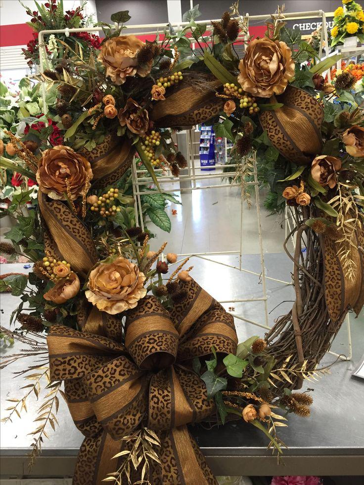 XL fall wreath