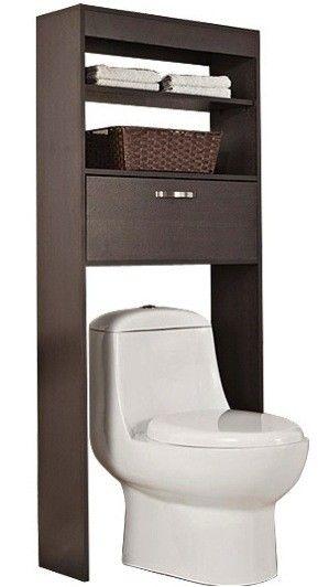 M s de 25 ideas incre bles sobre muebles de madera en for Estanteria sobre wc