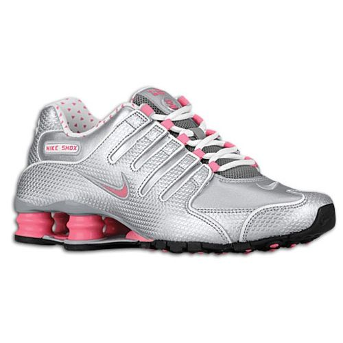 Wmns Nike Shox Roadster 12 Wolf Grey Pink Silver