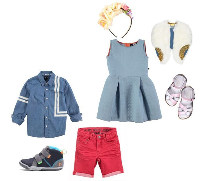 Mother's Day Inspo ✨  In Celebration of Mother's Day this Sunday we thought we'd help you prepare your little ones outfit attire with a mashup from our brands!   Mixing it up with molo, Plae UK, Salt-Water Sandals Europe and Isossy Children ✨   We would love to hear what you have planned for the weekend ❣  Besos xox   ‪#‎alegremedia