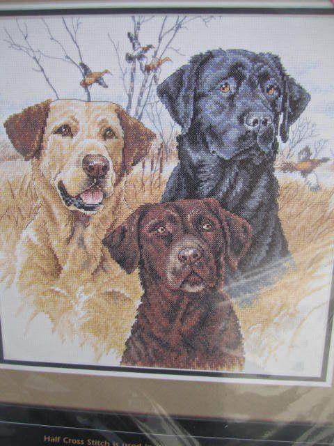 SeeSallySew.com - Great Hunting Dogs Cross Stitch Needlework Dimensions 35096 Kit , $20.00…