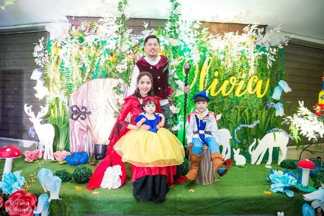 Olivia's Snow White and the Enchanted Forest Theme Party