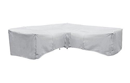 Protective Cover Corner Sectional Sofa Cover One Size Gray
