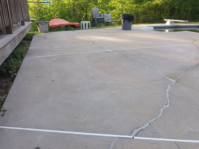 The Best Way To Fix A Cracked Patio To Fix Patio And Construction