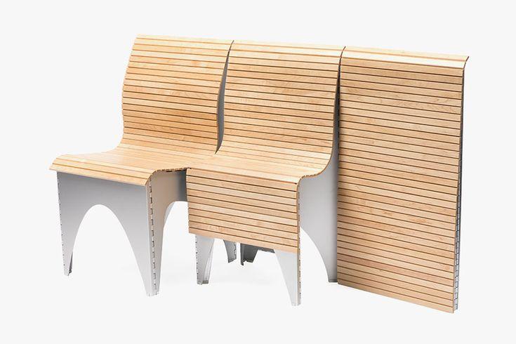 rockpaperrobot ollie chair designboom