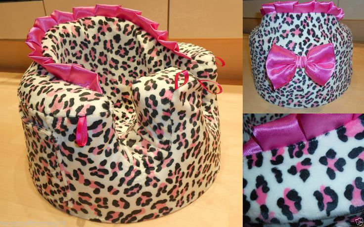 HANDMADE BUMBO CHAIR BABY GIRL INFANT SEAT COVER  LEOPARD,BABY SHOWER, NEW MUM