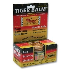 Ultra Strength Tiger Balm now available from http://www.karatemart.com