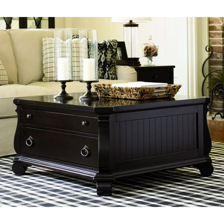 32 best tables tables and more tables images on pinterest for Long coffee table with storage