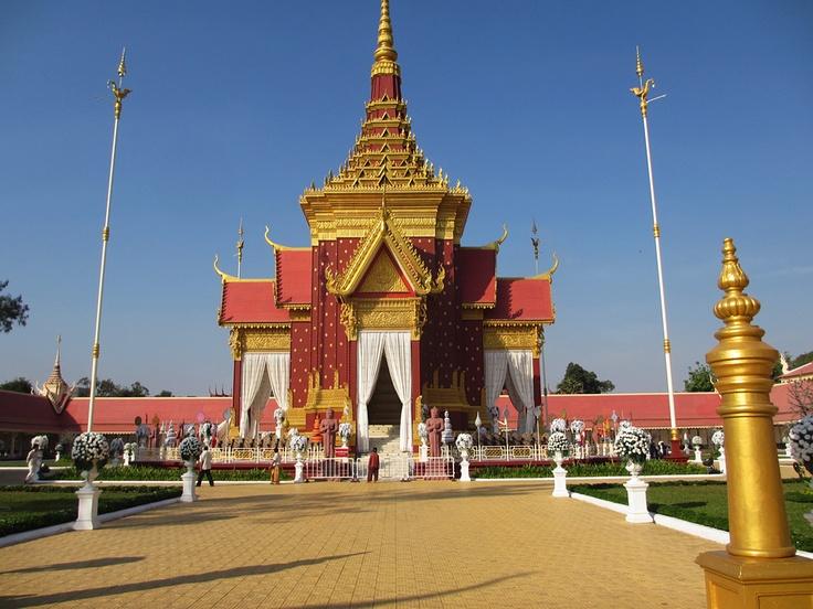 King-Father Norodom Sihanouk's Crematorium. (Feb 2013)    Website: www.tropicalasiatravel.com