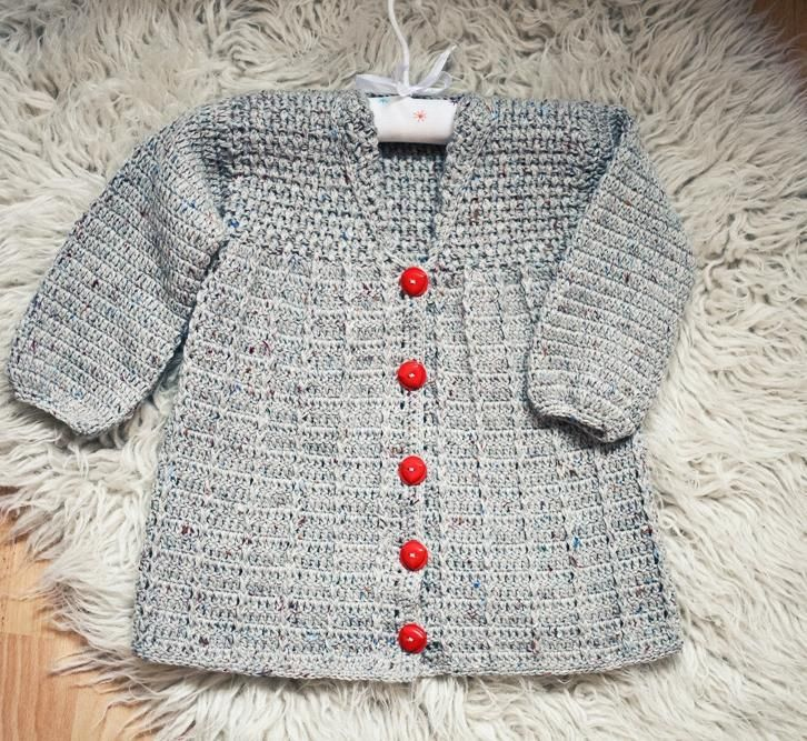 Crocheting: Crochet Baby (Toddler) Jacket