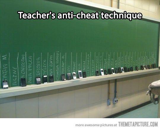 Clever teacher…