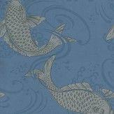 Derwent by Osborne & Little – Silver / Blue – W5796/05