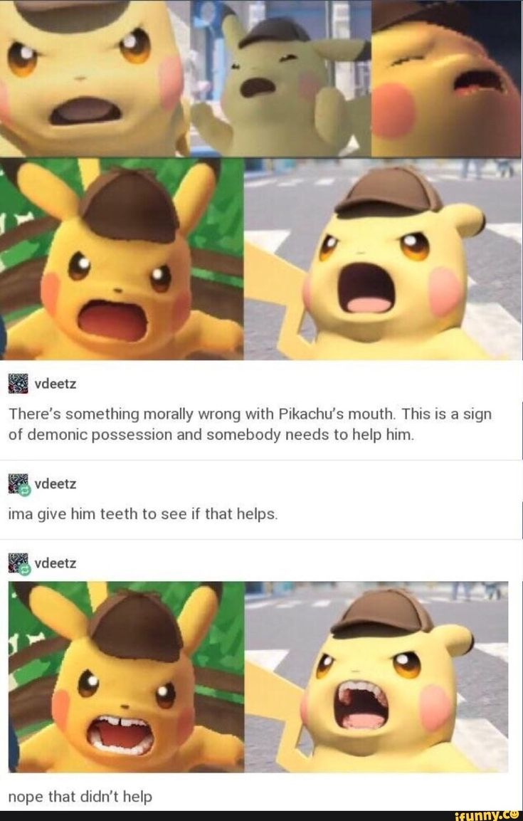 I wonder if this will be any good, just the thought of a pikachu talking with a deep voice seems very weird to me