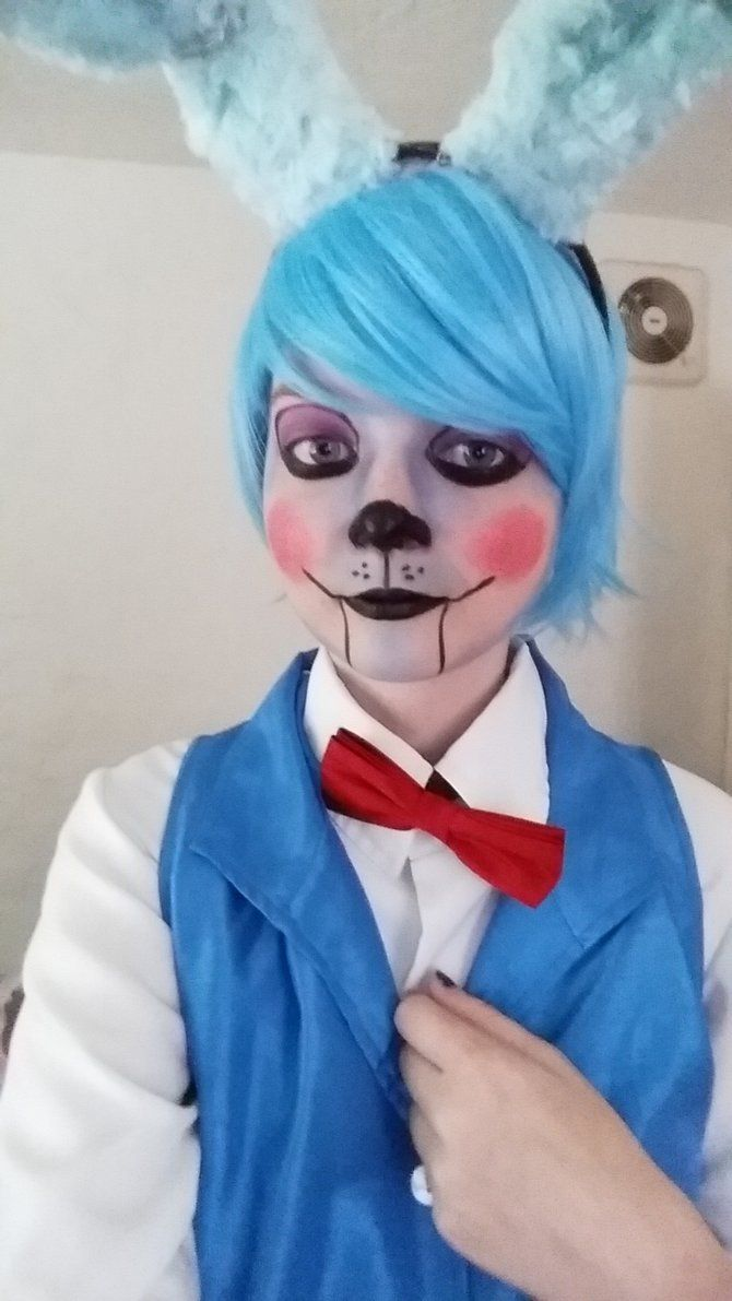 male bonnie fnaf cosplay - Google Search