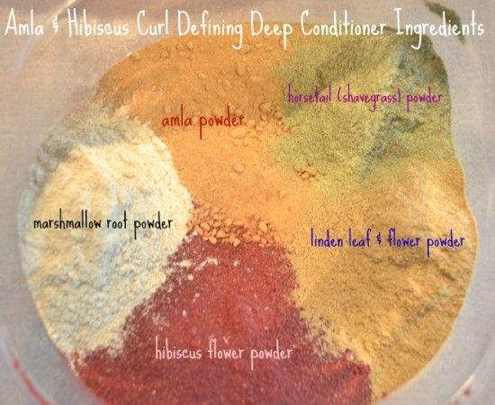 Amla & Hibiscus Curl Defining Deep Conditioner Recipe