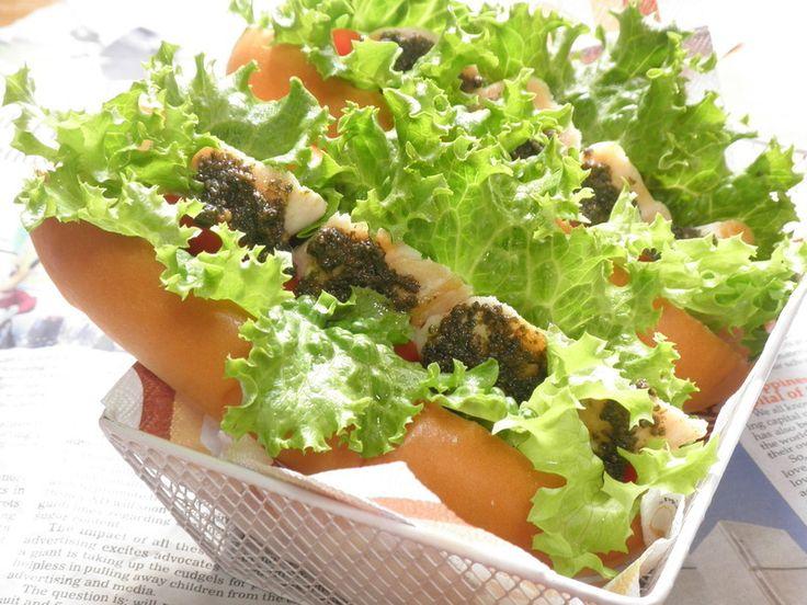 簡単でボリュームある洋風サンドイッチです♪ 冷めても美味しく食べられるのでお弁当にもおすすめ☆