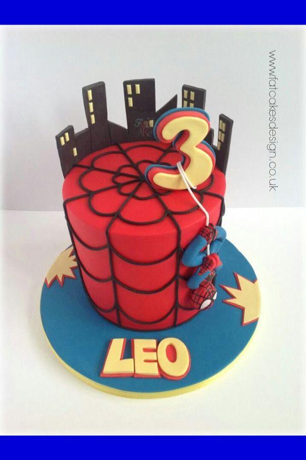 87 Ideas Of Best Birthday Cake Spiderman