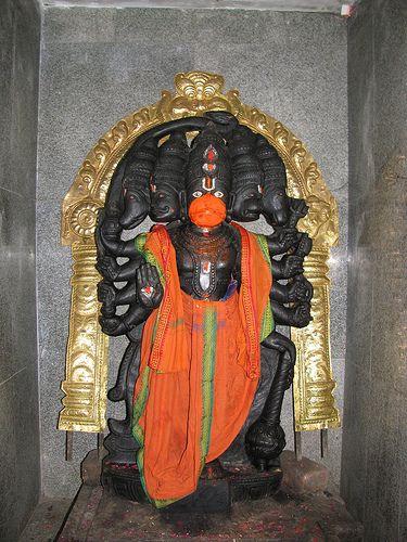 Panchamukha Hanuman at Sri Padaivettamman Temple, BLR