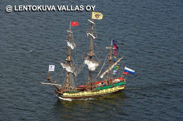 Kotka, Tall Ships Race Ilmakuva: Lentokuva Vallas Oy