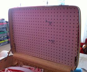 Why do you need that?: Craft Show displays made from Vintage Suitcases