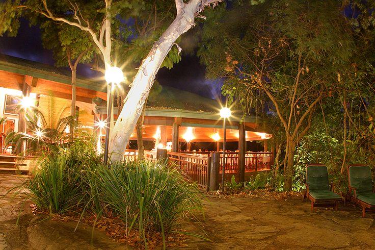 The restaurant at night #beach #restaurant #food