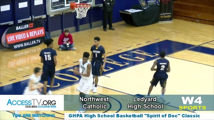 "W4 Sports - GHPA Spirit of DOC Basketball Classic 2017 Game 01 This is Northwest Catholic High School vs. Ledyard High School contest from the third annual Greater Hartford Pro-Am Youth High School Basketball Classic ""The Spirit of DOC"" Held at Trinity College in Hartford Connecticut.  Events, news, entertainment, and views in your community!  Now there is something worth watching on Social Media!  Watch it • Like it • Share it • with Colleagues, family, friends, and foe,"