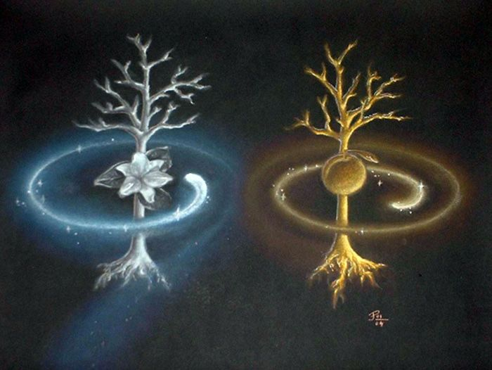 Tolkien - The two trees