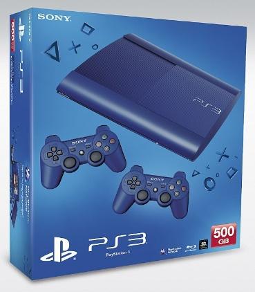PS3 500GB BLU