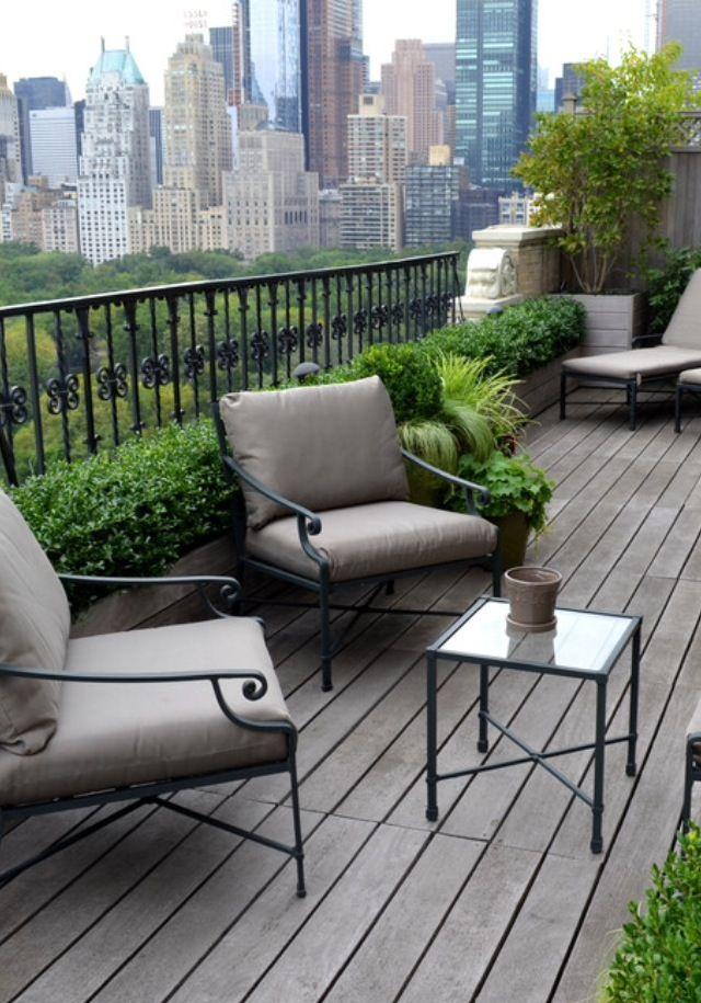 New york terrace terraza pinterest terrazas for Amoblar departamentos pequenos