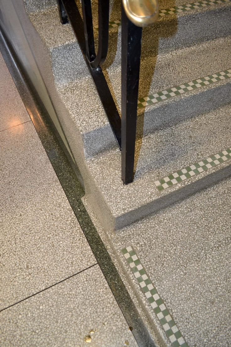 Terrazzo restoration and cleaning Surrey Sussex Hampshire Kent and Berkshire.