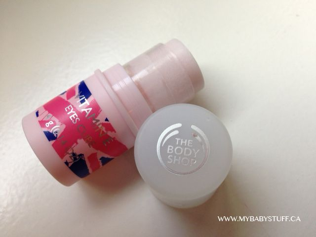 The new Vitamin E line The Body Shop. This Eyes Cube rocks!