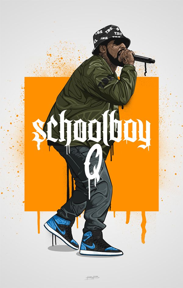 Schoolboy Q on Behance----------- Check Out Newest Unsigned Hype @AllieKayOfficial Soundcloud - AllieKayMusic