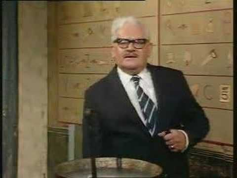 The Two Ronnies - Full Hieroglyphics Sketch