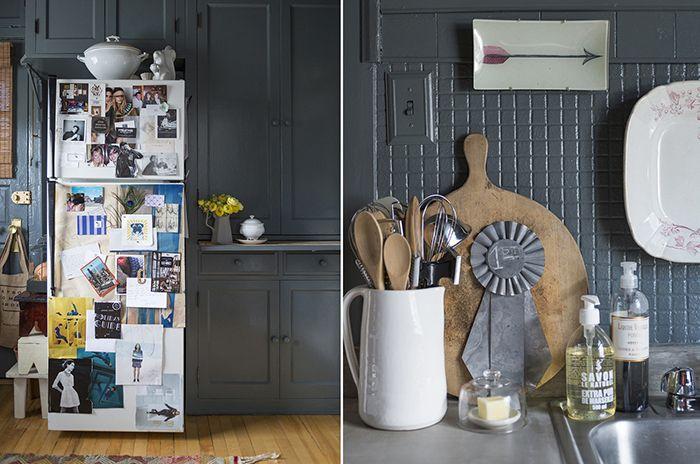 Глубокий цвет интерьера квартиры в Чикаго | Enjoy Home