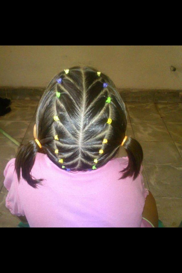 Peinado de ni as peinados pinterest - Peinados bonitos para ninas ...
