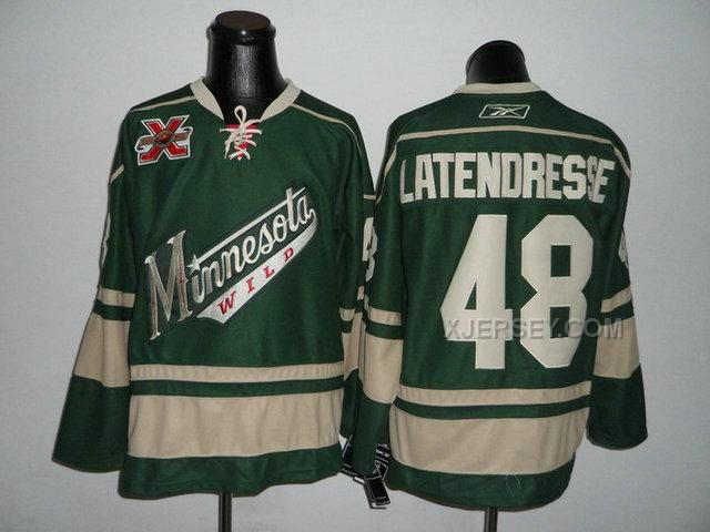 http://www.xjersey.com/wild-48-latendresse-green-10th-jerseys.html WILD 48 LATENDRESSE GREEN 10TH JERSEYS Only $46.00 , Free Shipping!